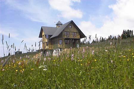 Penzion nad Pec� nad Sn�kou ve v�chodn�ch Krkono��ch